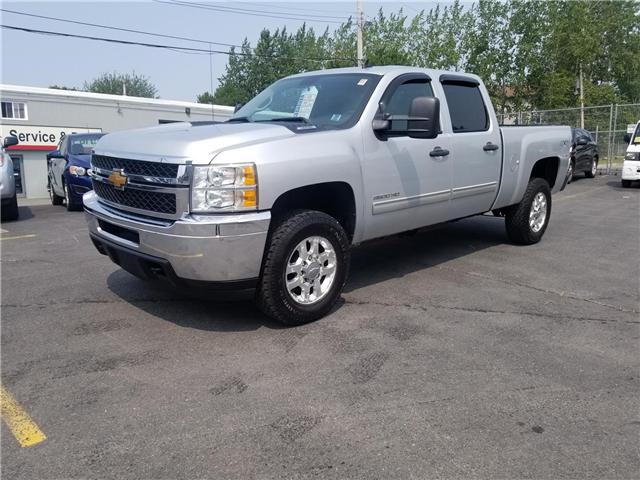 2013 Chevrolet Silverado 3500HD LT Crew Cab 4WD (Stk: p18-156) in Dartmouth - Image 1 of 8