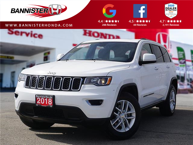 2018 Jeep Grand Cherokee Laredo (Stk: P21-140) in Vernon - Image 1 of 18