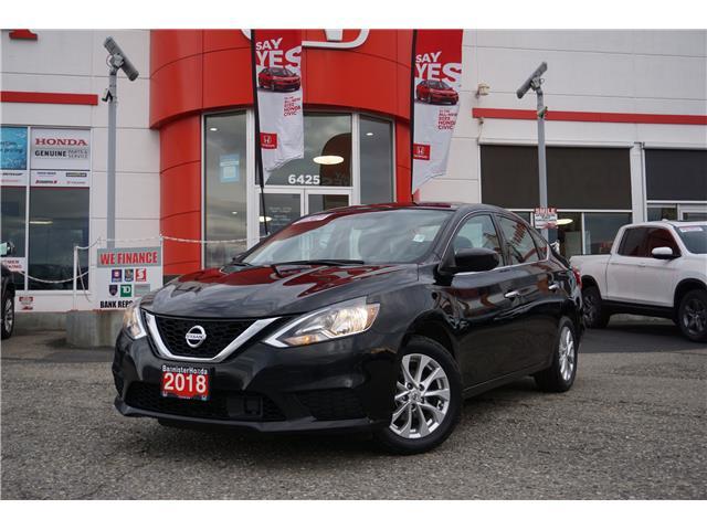 2018 Nissan Sentra 1.8 SV (Stk: P21-225) in Vernon - Image 1 of 16