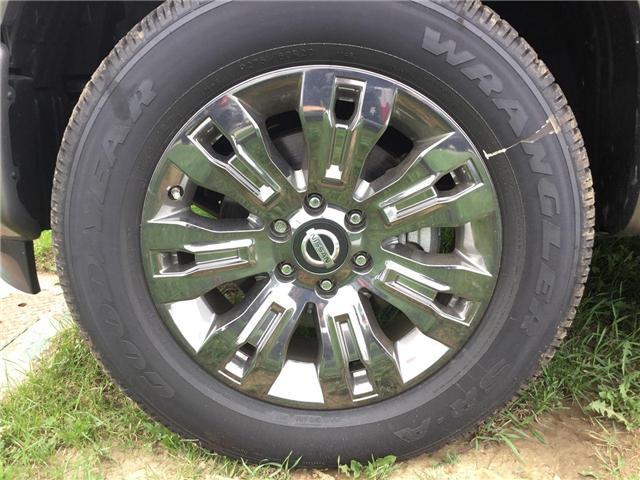 2018 Nissan Titan Platinum (Stk: A6760) in Hamilton - Image 2 of 4