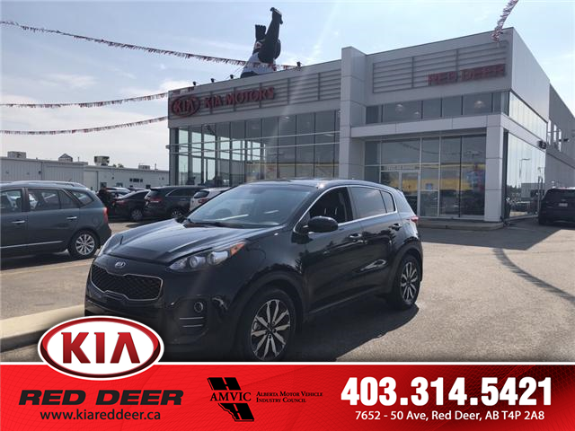 2017 Kia Sportage LX (Stk: 8SR7989A) in Red Deer - Image 1 of 10