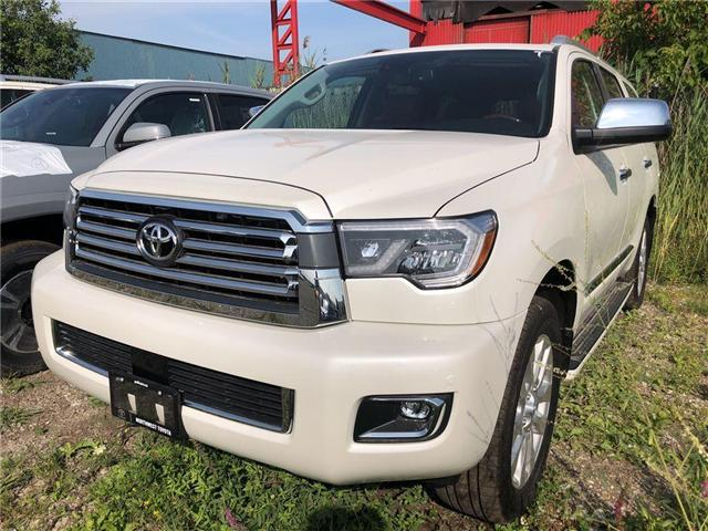 2018 Toyota Sequoia Platinum 5.7L V8 (Stk: 162392) in Brampton - Image 1 of 5