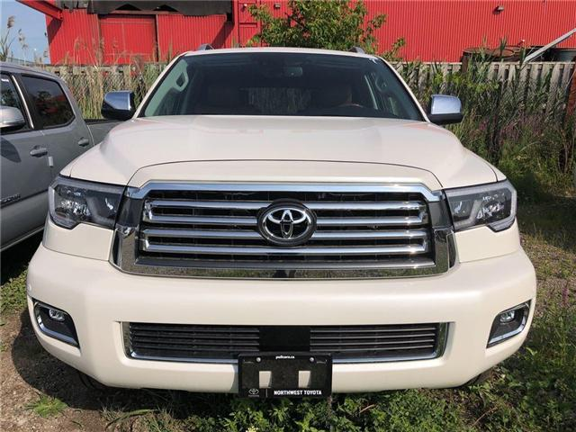 2018 Toyota Sequoia Platinum 5.7L V8 (Stk: 162392) in Brampton - Image 2 of 5