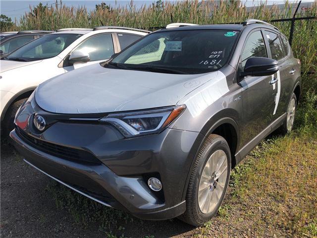 2018 Toyota RAV4 Hybrid Limited (Stk: 225469) in Brampton - Image 1 of 5