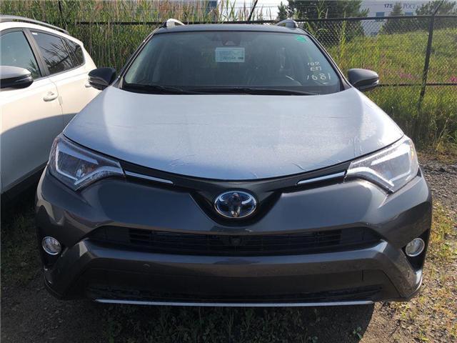 2018 Toyota RAV4 Hybrid Limited (Stk: 225469) in Brampton - Image 2 of 5