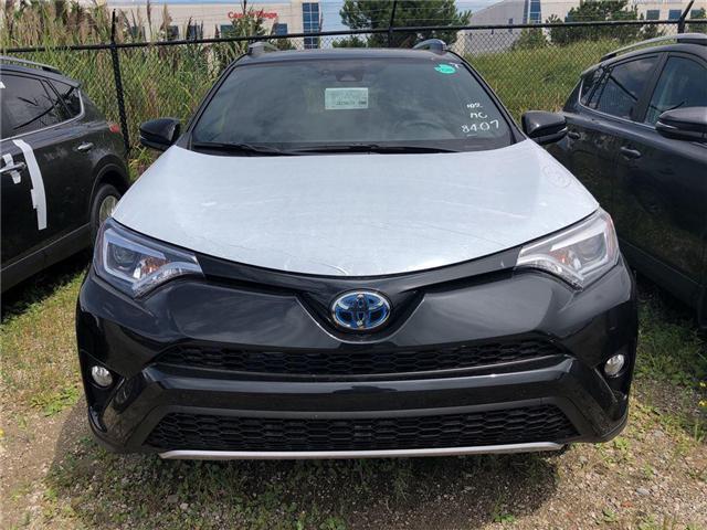 2018 Toyota RAV4 Hybrid SE (Stk: 230339) in Brampton - Image 2 of 5