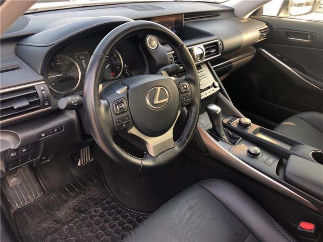 2017 Lexus IS 300 Base (Stk: 023438N) in Brampton - Image 10 of 15