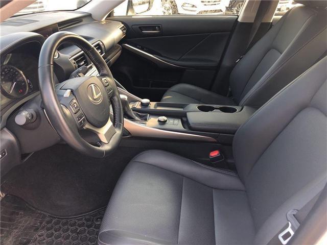 2017 Lexus IS 300 Base (Stk: 023438N) in Brampton - Image 11 of 15