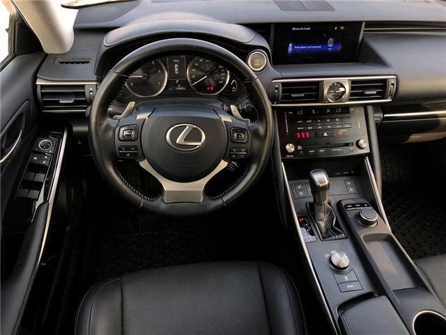 2017 Lexus IS 300 Base (Stk: 023438N) in Brampton - Image 12 of 15