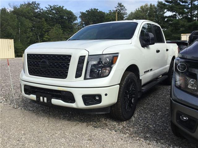 2018 Nissan Titan SV Midnight Edition (Stk: A7241) in Hamilton - Image 1 of 5