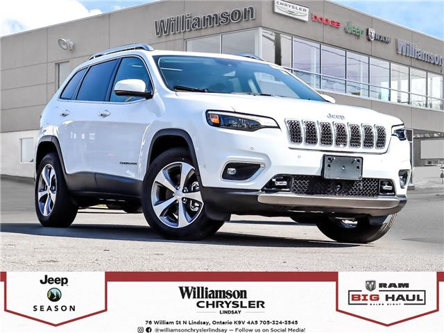 2021 Jeep Cherokee Limited (Stk: 164-21) in Lindsay - Image 1 of 29