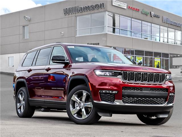 2021 Jeep Grand Cherokee L Limited (Stk: 161-21) in Lindsay - Image 1 of 30