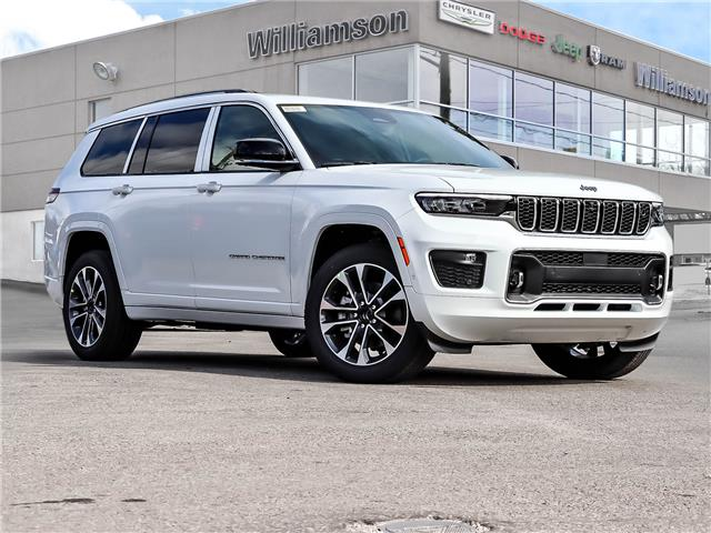 2021 Jeep Grand Cherokee L Overland (Stk: 187-21) in Lindsay - Image 1 of 30