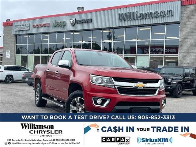 2016 Chevrolet Colorado LT (Stk: W6981) in Uxbridge - Image 1 of 2