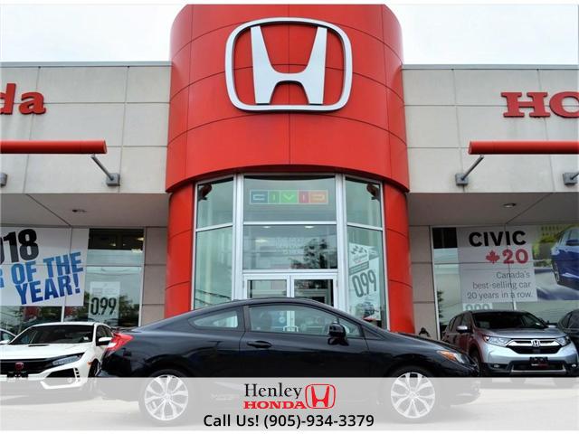 2012 Honda Civic Si (M6) (Stk: R9172) in St. Catharines - Image 1 of 22