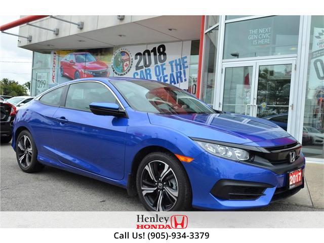 2017 Honda Civic LX BLUETOOTH HEATED SEATS (Stk: B0767) in St. Catharines - Image 2 of 22