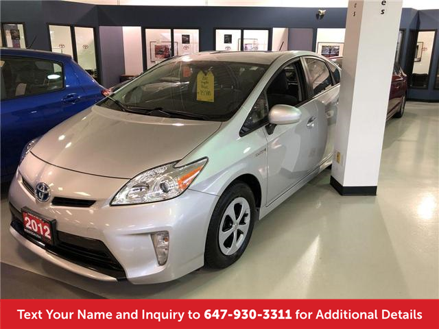 2012 Toyota Prius Base (Stk: 19720A) in Mississauga - Image 1 of 14