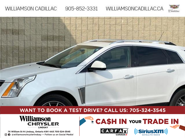 2016 Cadillac SRX Premium Collection (Stk: 21604A) in Uxbridge - Image 1 of 5