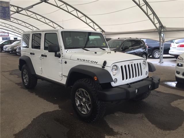 2017 Jeep Wrangler Unlimited Rubicon (Stk: 167916) in AIRDRIE - Image 1 of 19