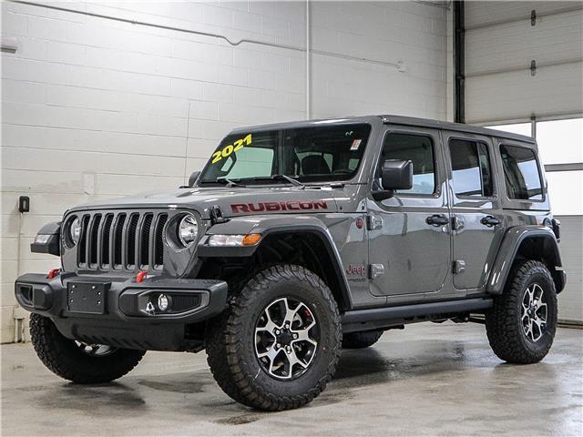 2021 Jeep Wrangler Unlimited Rubicon (Stk: 21J143) in Kingston - Image 1 of 22
