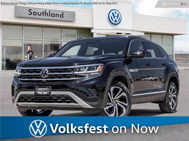 2021 Volkswagen Atlas Cross Sport 3.6 FSI Execline (Stk: M21171) in Medicine Hat - Image 1 of 23