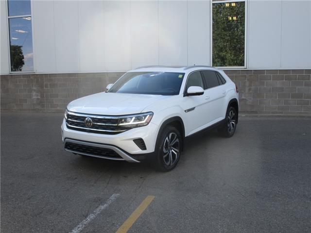 2021 Volkswagen Atlas Cross Sport 3.6 FSI Execline (Stk: 210377) in Regina - Image 1 of 47