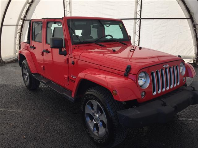 2016 Jeep Wrangler Unlimited Sahara (Stk: A8057B) in Ottawa - Image 1 of 18