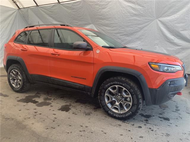 2021 Jeep Cherokee Trailhawk (Stk: 211037) in Thunder Bay - Image 1 of 23