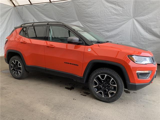 2021 Jeep Compass Trailhawk (Stk: 211180) in Thunder Bay - Image 1 of 22