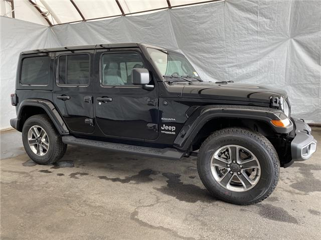 2021 Jeep Wrangler Unlimited Sahara (Stk: 211520) in Thunder Bay - Image 1 of 23