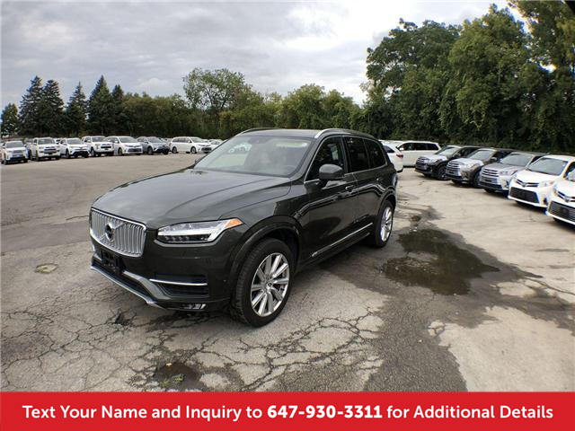 2018 Volvo XC90 T6 Inscription (Stk: J8702A) in Mississauga - Image 1 of 18
