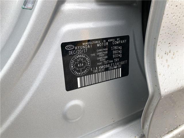 2018 Hyundai Elantra GL SE (Stk: P0140) in Calgary - Image 22 of 22
