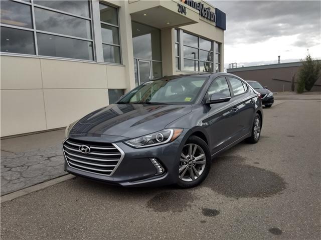 2017 Hyundai Elantra GL KMHD84LF9HU360756 NE009 in Calgary