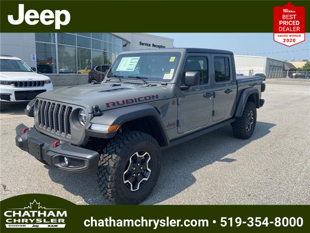 2021 Jeep Gladiator Rubicon (Stk: N05084) in Chatham - Image 1 of 21