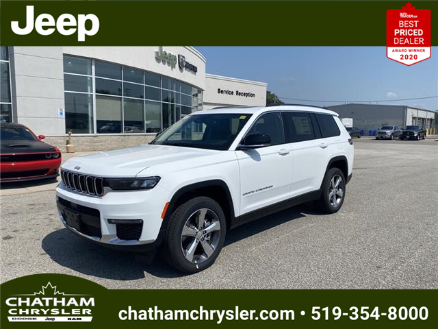 2021 Jeep Grand Cherokee L Limited (Stk: N05103) in Chatham - Image 1 of 23
