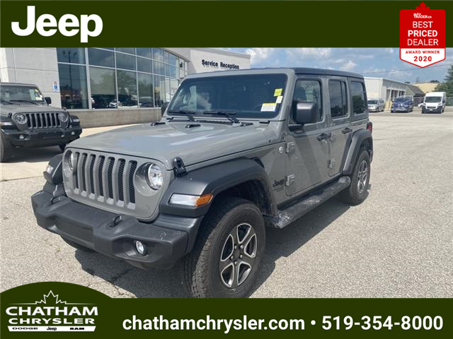 2021 Jeep Wrangler Unlimited Sport (Stk: N05117) in Chatham - Image 1 of 18