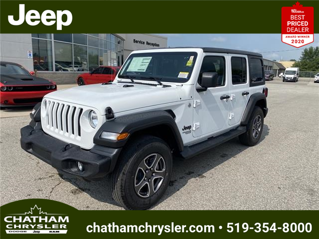 2021 Jeep Wrangler Unlimited Sport (Stk: N05126) in Chatham - Image 1 of 16