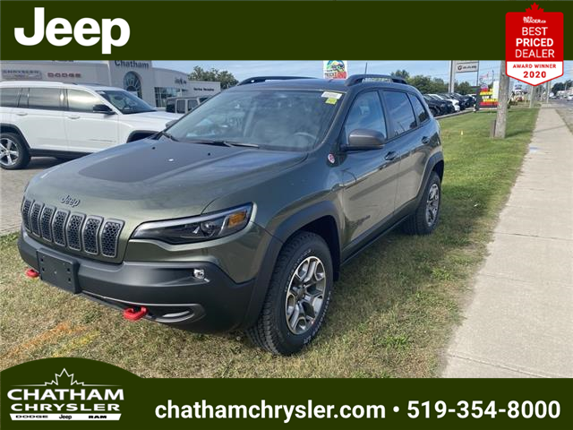 2021 Jeep Cherokee Trailhawk (Stk: N05143) in Chatham - Image 1 of 20
