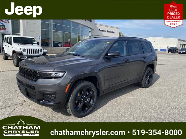 2021 Jeep Grand Cherokee L Laredo (Stk: N05190) in Chatham - Image 1 of 23
