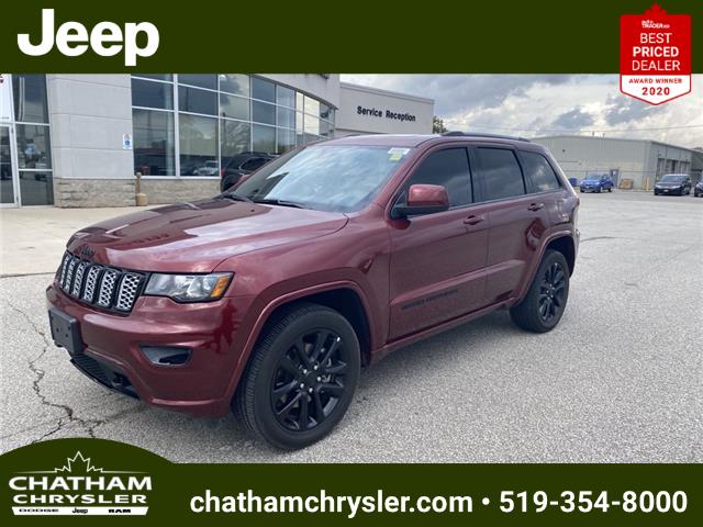 2021 Jeep Grand Cherokee Laredo (Stk: N04983) in Chatham - Image 1 of 21