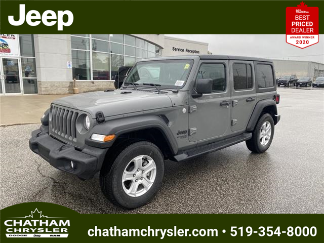 2021 Jeep Wrangler Unlimited Sport (Stk: N05202) in Chatham - Image 1 of 18