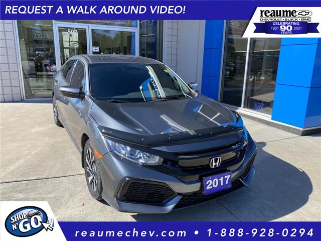 2017 Honda Civic LX (Stk: 21-0637C) in LaSalle - Image 1 of 24