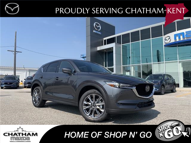 2021 Mazda CX-5 Signature (Stk: NM3545) in Chatham - Image 1 of 22
