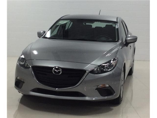 2016 Mazda Mazda3 GX (Stk: M18146A) in Sault Ste. Marie - Image 1 of 12