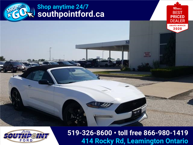 2021 Ford Mustang EcoBoost (Stk: SMU7071) in Leamington - Image 1 of 29