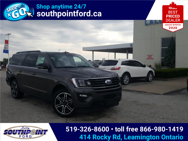 2021 Ford Expedition Max Limited (Stk: SED7081) in Leamington - Image 1 of 28
