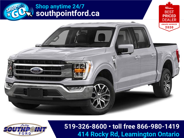 2021 Ford F-150 Lariat (Stk: SFF7105) in Leamington - Image 1 of 9