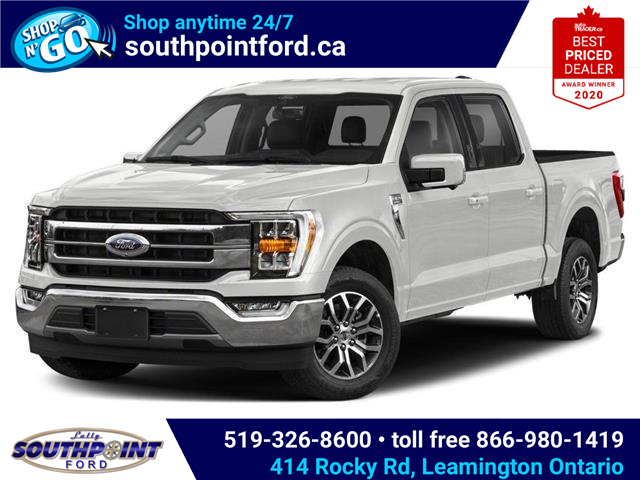 2021 Ford F-150 Lariat (Stk: SFF7128) in Leamington - Image 1 of 9