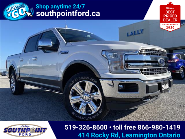 2018 Ford F-150 Lariat (Stk: S7105A) in Leamington - Image 1 of 23