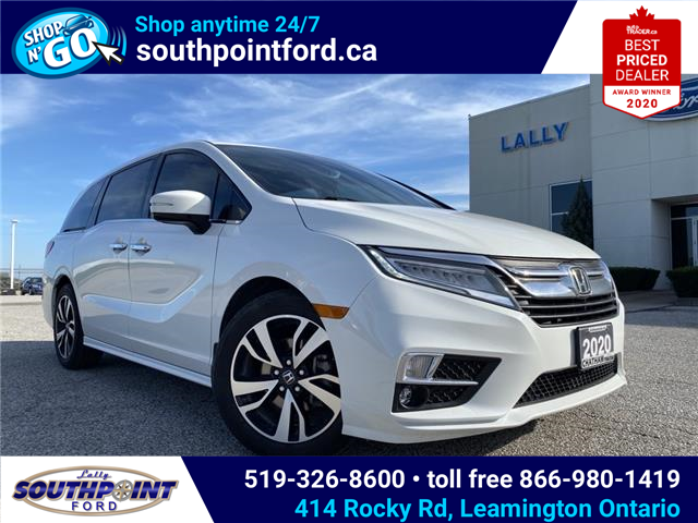 2020 Honda Odyssey Touring (Stk: S10769) in Leamington - Image 1 of 31